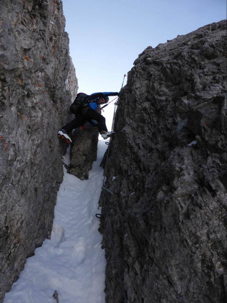 Am Klettersteig zum Steingrubenkogel