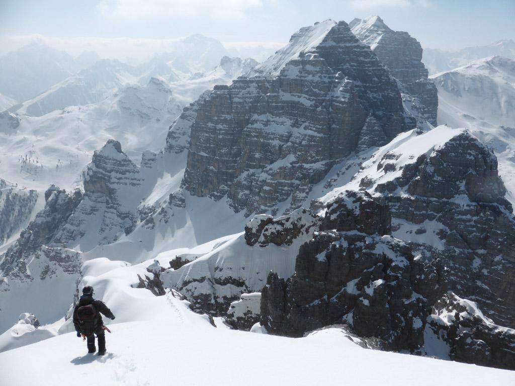 Gipfelgrat - Blick Richtung Ochsenwand