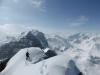 Gipfelgrat - Blick Richtung Riepenwand