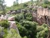 Die Abstiegsschlucht in die die Gorge du Blavet