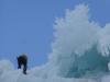 Mordor - Abseilen über Eisbalkone