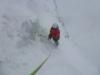 Excalibur - Abseilen im Schneesturm