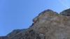 SL 18 - Steile A0 Länge mit kurzen zwingenden Freikletterpassagen