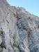 Steile Verschneidung in der dritten Seillänge