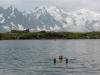 Besseres Hitzeprogramm - Blick auf Midi-Plan Traverse vom warmen Lac de Chesery