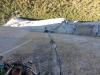 Tolle SL 13 - Blick hinunter zu Mammoth Terraces bzw den Ledges bei Stand 12
