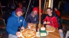 Obligatorische Pizza im Curry Village