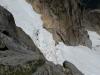 Bergschrund - später im Jahr sicher eine Schlüsselstelle