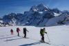 Aufstieg über den Glacier de Valsorey