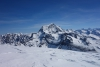Blick vom Gipfel zum Grand Combin