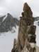Unglaublich schöne und exponierte Gipfelseillänge
