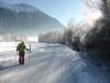 Extrem kalter Morgen in Längenfeld