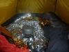Kochen um Zwei Uhr Früh im Zelt