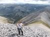 Near the summit of Netro Mountain