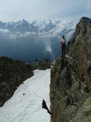Bergrettung mit gewaltigem Panorama
