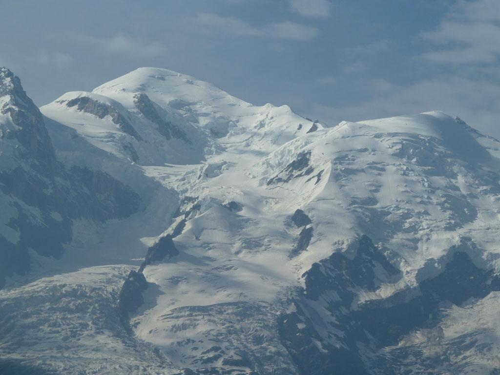 Mont Blanc vom Brevent aus gesehen