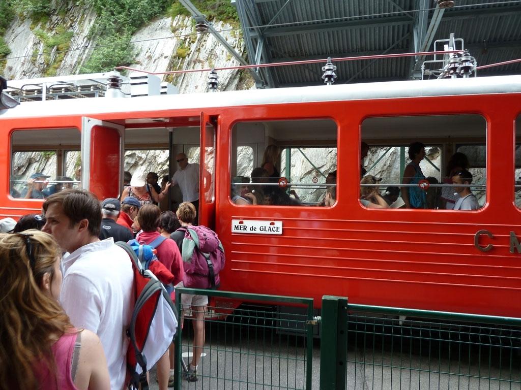 Zahnradbahn Montenvers