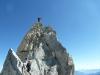 Claudia am Gipfel - 4013m