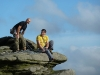 Mark und Lucky in Stanage