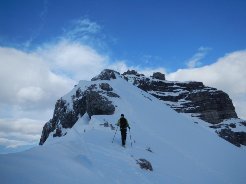 Gipfelgrat zur Grossen Ochsenwand