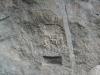 Quadratschädel Petroglyph