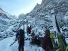 Latschen sorgen fuer Schnee im Genick