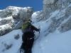 Ausstieg zum Gipfel