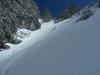 Traumhafte Skiabfahrt