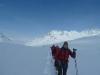 Auf dem Weg zur Hinteren Jamspitze