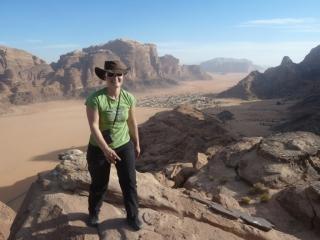 Eingehtour Jebel Mayeen S-Grat