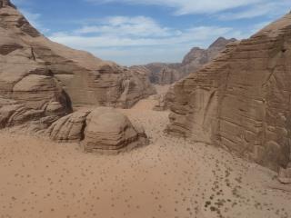 Barrah Canyon vom Top der Merlins Wand