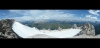 Panorama vom Gipfel Richtung Norden