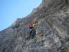 Lukas in der vertikalen Felswüste