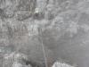 In der Scharte vor dem Gipfelaufschwung zur Seespitze