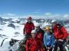 Meine Gruppe happy am Gipfel