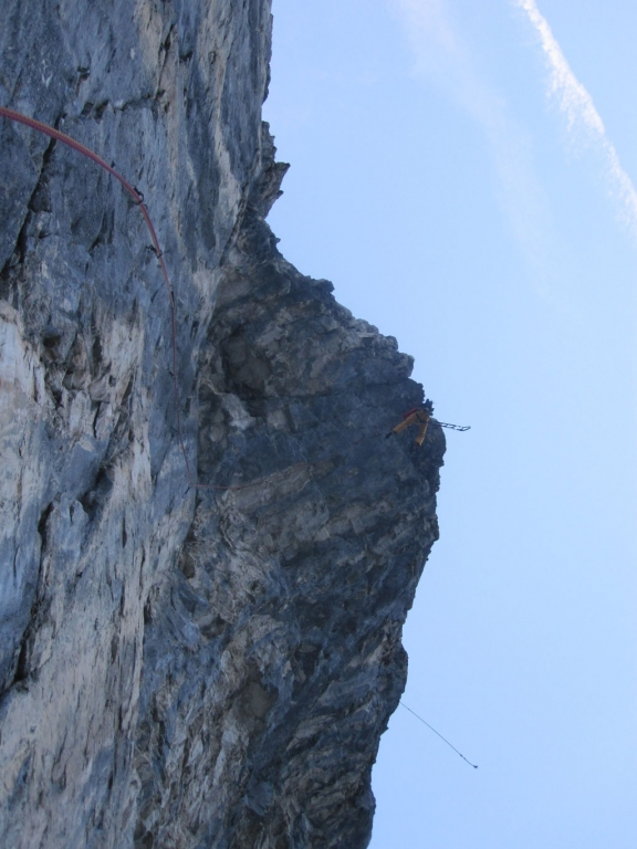 SL 14: Der gewaltige Schlussüberhang - die letzten technischen Meter
