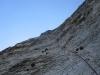 SL 10: Nicht gerade die beste Felsqualität