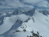 Gipfelpanorama Ochsenkopf - Blick zu den Jamspitzen